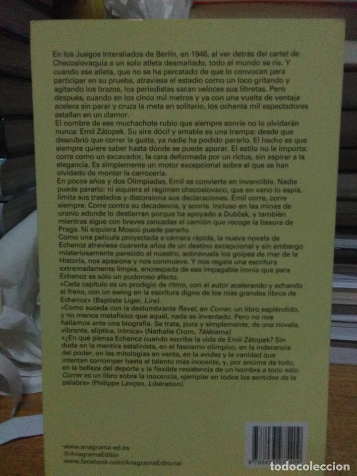 Libros: Jean Echenoz.Correr.ANAGRAMA - Foto 2 - 218547387