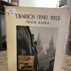 Libros: DIARIOS (1910-1913). Lote 218723496