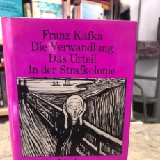 Libros: DIE VERWANDLUNG DAS URTEIL IN DE STRAFKOLONIE. Lote 218723862