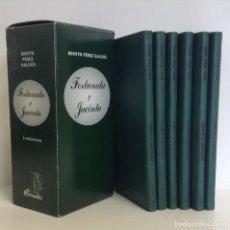 Libros: BENITO PÉREZ GALDÓS: FORTUNATA Y JACINTA - 6 TOMOS - ENCUADERNADOS EN PIEL *** EL PARNASILLO ***. Lote 218783567