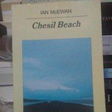 Libros: IAN MCEWAN.CHESIL BEACH.ANAGRAMA. Lote 218911257