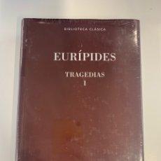 Livres: EURIPIDES TRAGEDIAS I - NUEVO. Lote 219079135