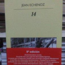 Libros: JEAN ECHENOZ.14.ANAGRAMA. Lote 219336513