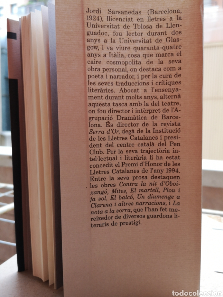Libros: JORDI SARSANEDAS. De Famagusta a Antofagasta. Cercle de lectors, 1995 (Nou). - Foto 4 - 220959970