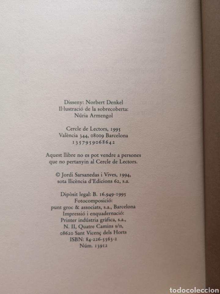 Libros: JORDI SARSANEDAS. De Famagusta a Antofagasta. Cercle de lectors, 1995 (Nou). - Foto 5 - 220959970