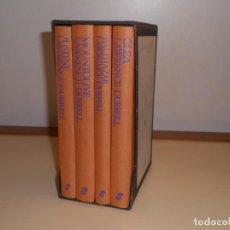 Libros: EL CUARTETO DE ALEJANDRÍA , LAWRENCE DURREL - EDHASA (SIN SOBRECUBIERTAS, RESTO MUY BUEN ESTADO. Lote 221258263