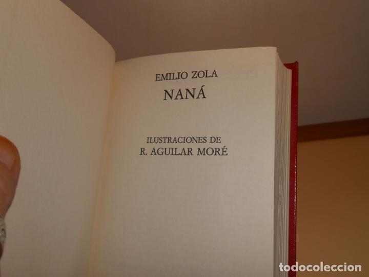 Libros: ZOLA , NANÁ - PIEL - NAUTA , 1972 1ª EDICIÓN - Foto 2 - 221259513