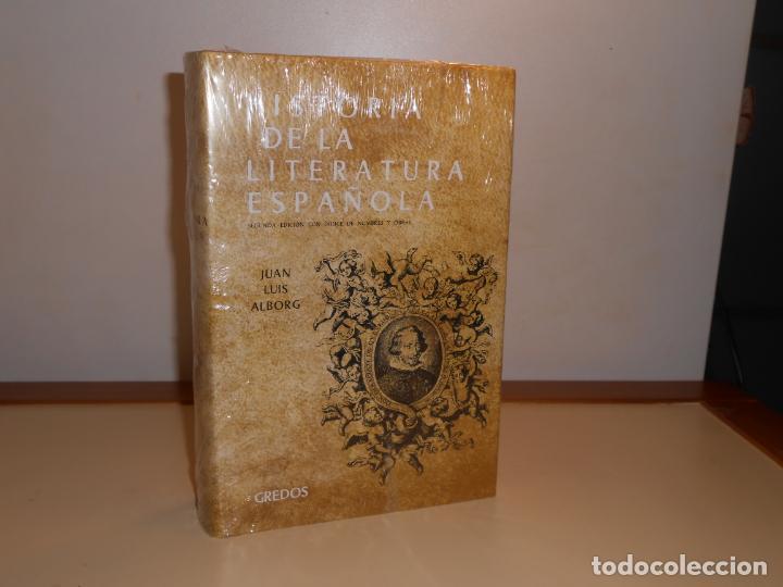 HISTORIA DE LA LITERATURA , ÉPOCA BARROCA , JUAN LUIS ALBORG - GREDOS (PRECINTADO (Libros Nuevos - Literatura - Narrativa - Clásicos Universales)