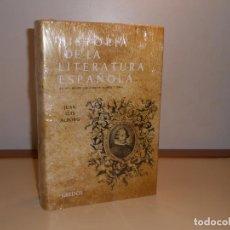 Libros: HISTORIA DE LA LITERATURA , ÉPOCA BARROCA , JUAN LUIS ALBORG - GREDOS (PRECINTADO. Lote 221260923