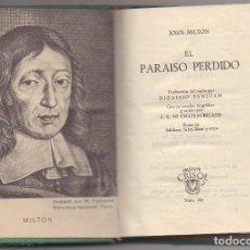 Libros: EL PARAISO PERDIDO JHON MILFON. Lote 221421311