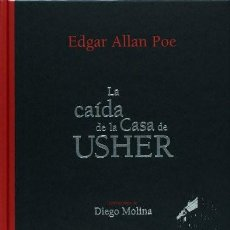 Livres: CAIDA DE LA CASA DE USHER, LA / PD. POE, EDGAR ALLAN GRAN FORMATO TAPA DURA. Lote 221455325