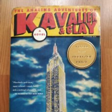 Libros: THE AMAZING ADVENTURES OF KAVALIER AND CLAY. Lote 221666205