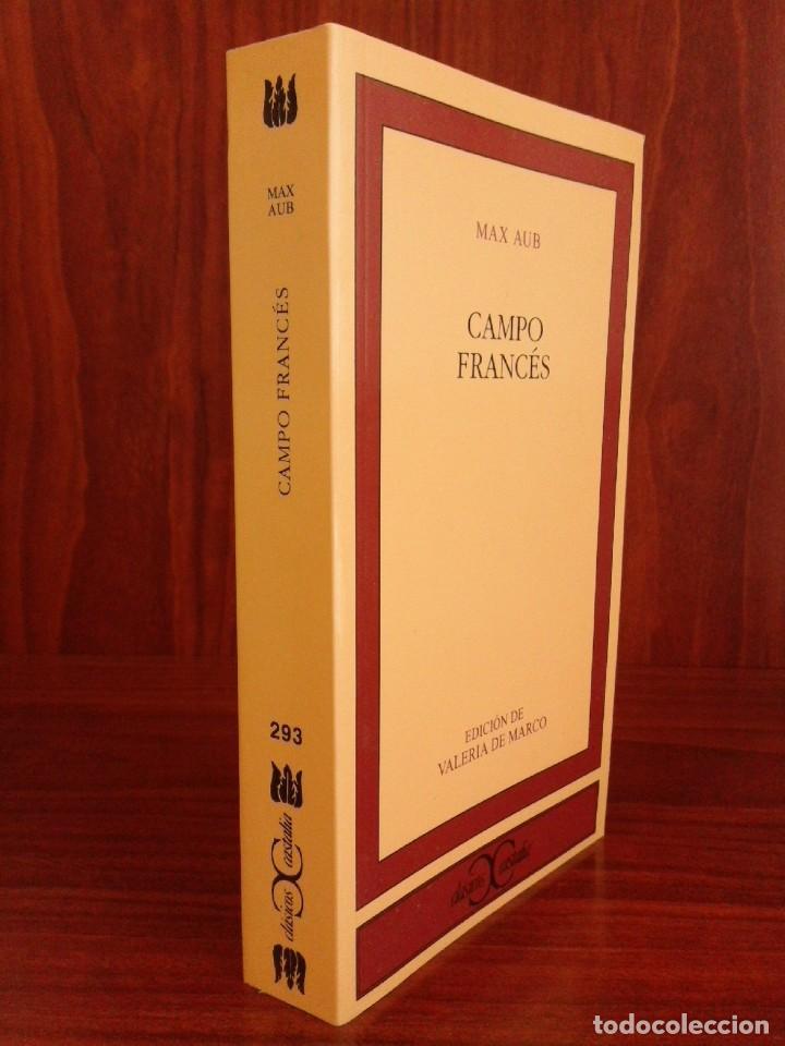 MAX AUB - CAMPO FRANCÉS - CASTALIA 2008 - NUEVO (Libros Nuevos - Literatura - Narrativa - Clásicos Universales)
