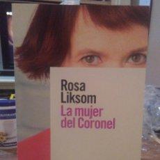 Libros: ROSA LIKSOM.LA MUJER DEL CORONEL.ALIANZA LITERATURAS. Lote 222268543