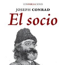 Libros: EL SOCIO- JOSEP CONRAD- LIBRO NUEVO- NOVELA- GASTOS DE ENVIO GRATIS. Lote 222325787