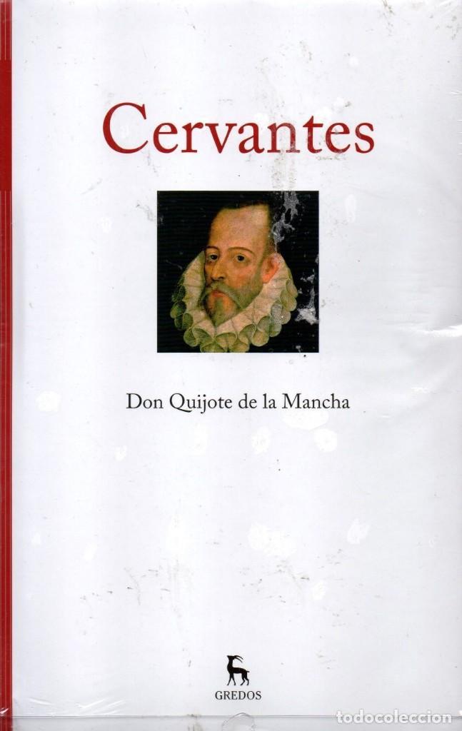 DON QUIJOTE DE LA MANCHA DE CERVANTES - GREDOS (PRECINTADO) (Libros Nuevos - Literatura - Narrativa - Clásicos Universales)