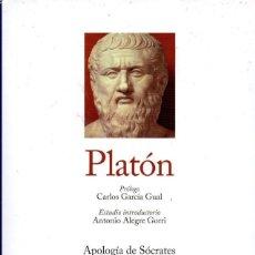 Libros: PLATON TOMO I - GREDOS, RBA, 2010. Lote 222503597