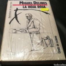 Libros: LA HOJA ROJA - MIGUEL DELIBES - CÍRCULO DE LECTORES. Lote 224007283