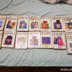 Libros: 15 TOMOS COLECCIÓN SALVAT 'NOVELA Y OCIO'. Lote 227623195