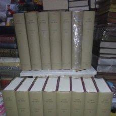 Libri: LOPE DE VEGA.COMEDIAS.(15 TOMOS).BIBLIOTECA CASTRO. Lote 230947075