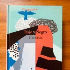 """Libros: """"ROJO Y NEGRO"""" STENDHAL. Lote 232076220"""