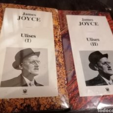 Libros: ULISES DE JAMES JOYCE. 2 TOMOS. NUEVOS.. Lote 234099565