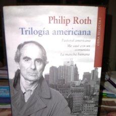Libros: PHILIP ROTH.TRILOGÍA AMERICANA . GALAXIA GUTENBERG. Lote 238891820