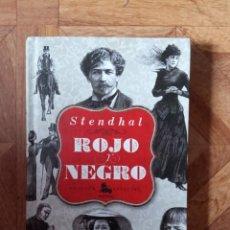 Libros: STENDHAL - ROJO Y NEGRO. Lote 239597815