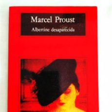 Libros: PROUST: ALBERTINE DESAPARECIDA - NUEVO. Lote 239991480