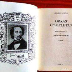 Livros: DICKENS - LA CASA DESHABITADA Y OTRAS - OBRAS COMPLETAS IV - NUEVO. Lote 240338490
