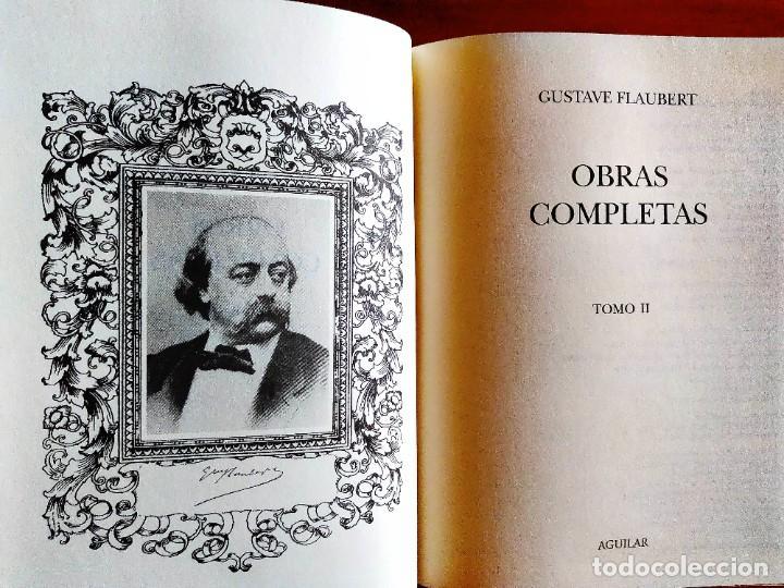 FLAUBERT: OBRAS COMPLETAS II - AGUILAR - NUEVO (Libros Nuevos - Literatura - Narrativa - Clásicos Universales)