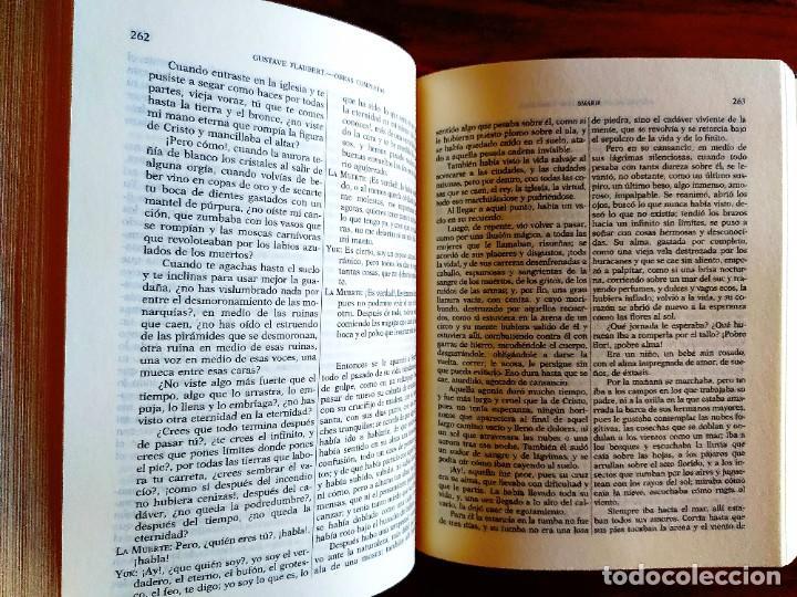 Libros: FLAUBERT: OBRAS COMPLETAS II - AGUILAR - NUEVO - Foto 4 - 240486720