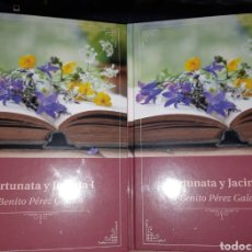 Libros: LIBROS GOYO - FORTUNATA Y JACINTA - COMPLETA- PRECINTADO- MEJOR DE GALDÓS- AA98. Lote 240625685