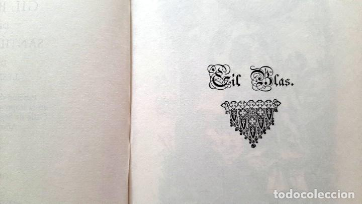 Libros: Lesage-edición facsímil de Gil Blas de Santillana 3 tomos 1ª tirada ejemplar 0086 - Foto 5 - 243140670
