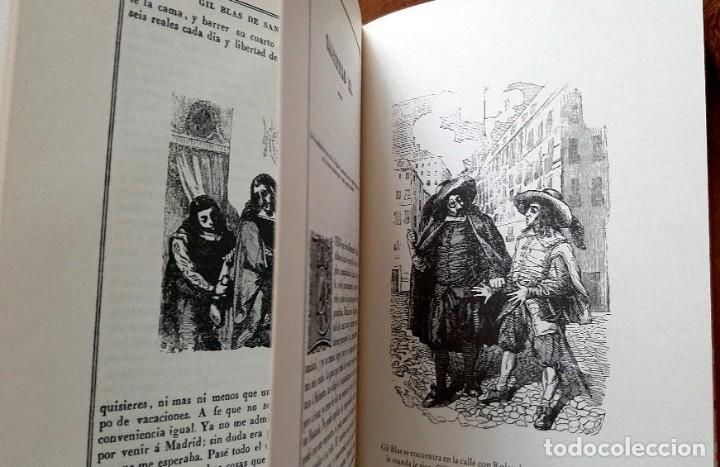 Libros: Lesage-edición facsímil de Gil Blas de Santillana 3 tomos 1ª tirada ejemplar 0086 - Foto 8 - 243140670