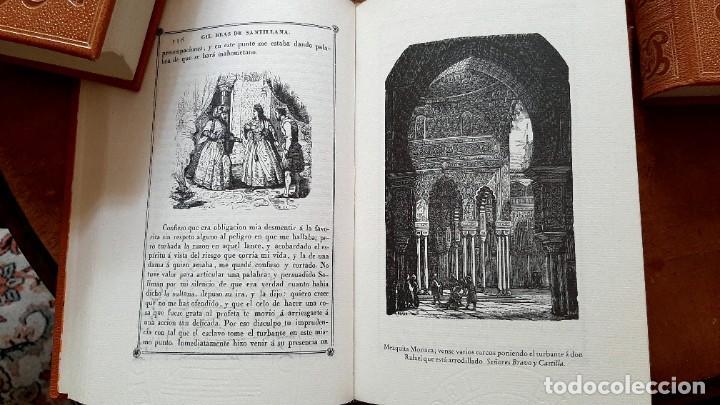 Libros: Lesage-edición facsímil de Gil Blas de Santillana 3 tomos 1ª tirada ejemplar 0086 - Foto 12 - 243140670