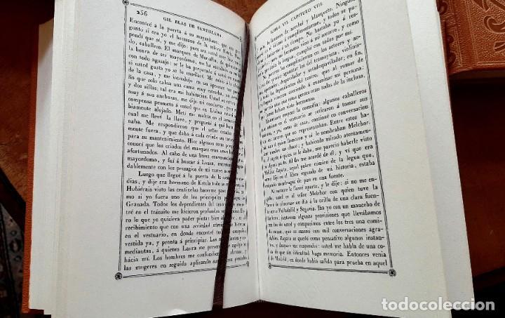 Libros: Lesage-edición facsímil de Gil Blas de Santillana 3 tomos 1ª tirada ejemplar 0086 - Foto 13 - 243140670