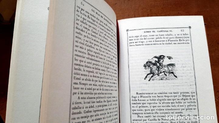 Libros: Lesage-edición facsímil de Gil Blas de Santillana 3 tomos 1ª tirada ejemplar 0086 - Foto 16 - 243140670