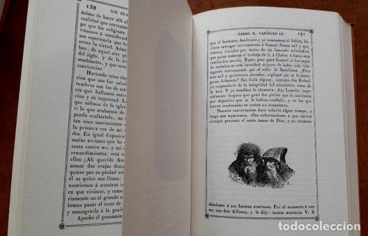 Libros: Lesage-edición facsímil de Gil Blas de Santillana 3 tomos 1ª tirada ejemplar 0086 - Foto 17 - 243140670
