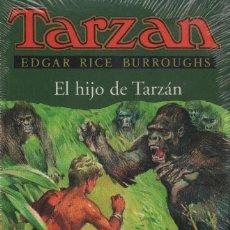 Libros: EL HIJO DE TARZÁN. EDGAR RICE BURROUGHS. EDHASA. 1996. NUEVO. RETRACTILADO.. Lote 243612380