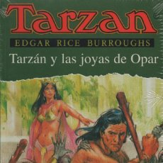 Libros: TARZÁN Y LAS JOYAS DE OPAR. EDGAR RICE BURROUGHS. EDHASA. 1996. NUEVO. RETRACTILADO.. Lote 243613460