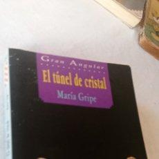Libros: EL TÚNEL DE CRISTAL. GRAN ANGULAR. MARIA GRIPE. EDICIONES SM.. Lote 243858005