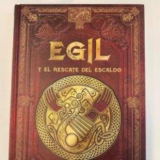 Libros: MITOLOGÍA NÓRDICA COLECCIÓN EGIL Y LA TRAICION DEL REY. Lote 243977500