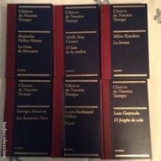 Libros: COLECCION CLÁSICOS DE NUESTRO TIEMPO EDITORIAL PLANETA 30 LIBROS NUEVOS. Lote 247316870