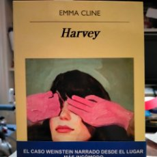 Libros: EMMA CLINE. HARVEY . ANAGRAMA. Lote 248643500