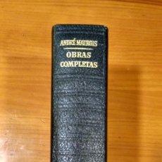 Libros: ANDRE MAUROIS. OBRAS COMPLETAS TOMO I. NOVELAS. PLAZA & JANÉS. 1972.. Lote 250282245