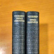 Libros: M.VAN DEN MERSCH. OBRAS COMPLETAS I Y II. PLAZA & JANÉS. 1974.. Lote 250283660