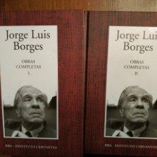 Libros: OBRAS COMPLETAS DE BORGES. Lote 252059155