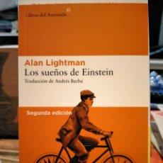 Livros: ALAN LIGTHMAN. LOS SUEÑOS DE EINSTEIN .LIBROS DEL ASTEROIDE. Lote 252083435