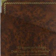 Libros: EL INGENIOSO HIDALGO DON QUIJOTE DE LA MANCHA (4 TOMOS). FACSÍMIL DE LA EDICIÓN CORREGIDA POR RAE.. Lote 252827060